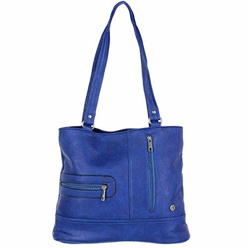 Antonio Damen Schultertasche blue
