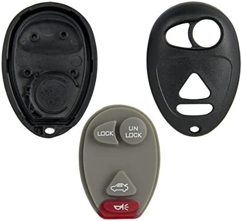 New 4Button Remote Key Case Shell Replace for Buick Century Rendezvous US