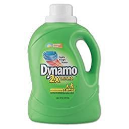 Dynamo Dynamo Ultra Liquid Laundry Detergent, Sunshine Fresh, 100 oz Bottle - four bottles.