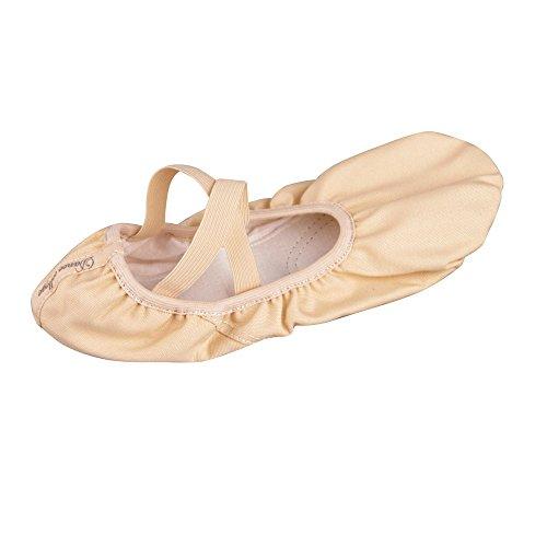 Sborter Shoes amp; Ballet Sole Women Shoes Sizes Gymnastic Flat Soft Pink Children Girls Shoes Pink Leather Adult Ballet 16 Split Black Apricot for Dance Canvas amp; Dance Ballet Apricot Yoga rqrx8ZYn1