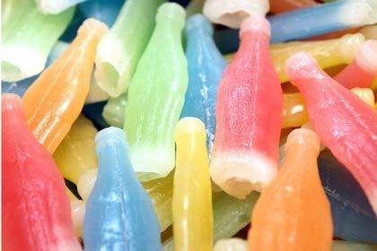 Nik-L-Nips Wax Bottles Candy Drinks - 3LB Bulk Candy