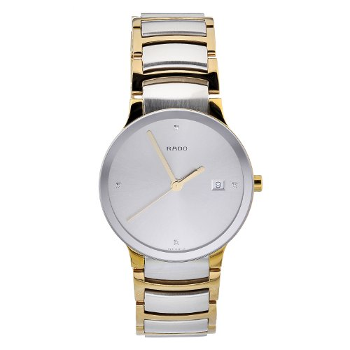 Rado-Mens-R30931713-Quartz-Stainless-Steel-Silver-Dial-Watch