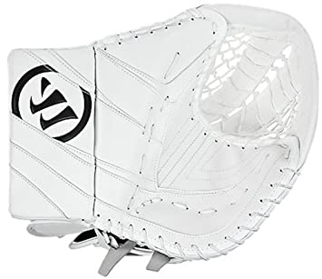Warrior Junior Ritual Hockey Catcher/Trapper, White/Black/Silver GCRTJ2 JR
