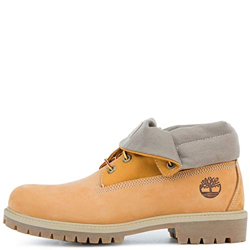 Ankle Boots Timberland - Timberland Men's Icon Collection Single Roll-Top Ankle Boot Wheat Nubuck 10.5 Medium US