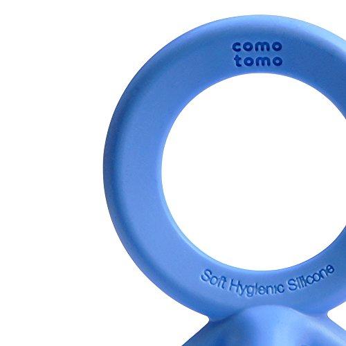41U0E4S6KnL - Comotomo Silicone Baby Teether, Blue