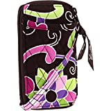 Vera Bradley All in One Wristlet in Purple Punch