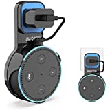 Awortek Echo Dot Wall Mount Outlet Hanger Holder Home Speakers Stand for Alexa Dot 2nd Generation,A Space Saving Solution in Kitchen,Bathroom and Bedroom