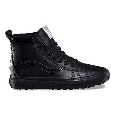 79ed2d9d3bc74 Amazon.com | Vans SK8-HI MTE Black/Gold Stud PS 11 (Kids) | Sneakers