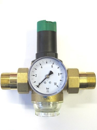 'Honeywell Braukmann D06F–Válvula reductora 3/4pulgadas + manómetro Reductor de presión