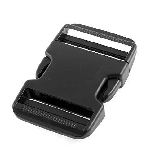 [해외]uxcell 플라스틱 잠금 장치 측면 해제 버클 2 인치 웨빙 스트랩 검정색/uxcell Plastic Clasp Side Release Buckle 2 Inches Webbing Strap Black