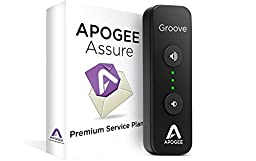 Apogee GROOVE+AA3 Portable USB DAC & Headphone Amplifier with 3 Year Assure Premium Service Plan