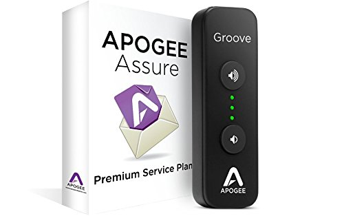 Apogee GROOVE+AA3 Portable USB DAC & Headphone Amplifier with 3 Year Assure Premium Service Plan by Apogee