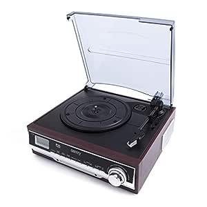 Camry CR 1168 - Tocadiscos con Radio FM (Bluetooth, Entrada ...