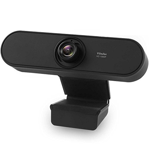 Yilador YL450 Webcam 1080P Full HD with Noise Cancelling Microphone, High Definition Web Camera, Skye Webcams Wide Angle for PC Computer Latop Desktop, Compatible with Mac OS X and Windows 10, 8, 7 by Yilador