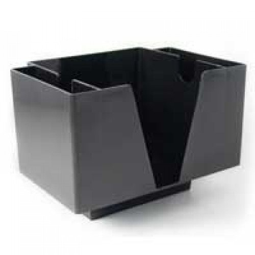 Bar Products.com, Napkin Bar Caddy, 2 Pocket, Black BC-RC