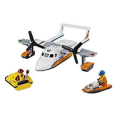 LEGO City Coast Guard Sea Rescue Plane 60164 Building Kit (141 Piece): Toys & Games