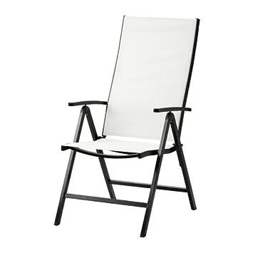 Ikea Gartenstuhl amazon de ikea hochlehner ammerö gartenstuhl 5 fach verstellbar