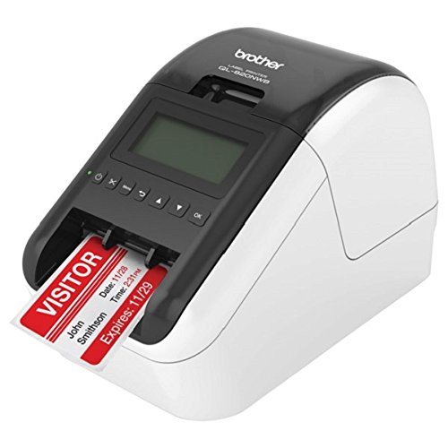 Brother QL-820NWB Professional, Ultra Flexible Label Printer with Multiple Connectivity options by Brother