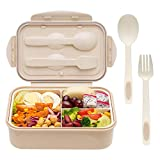 Bento Boxes for Adults - Bento Lunch Box For Kids Childrens With Spoon...