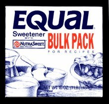 - Equal Bulk Pack for Recipes