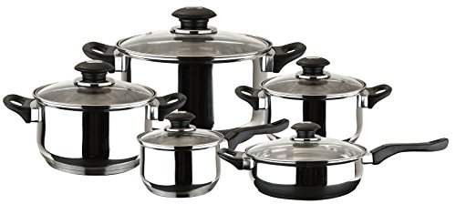 Magefesa 01BXFAMILY10 10-Piece Family Stainless Steel Cookware Set by Magefesa