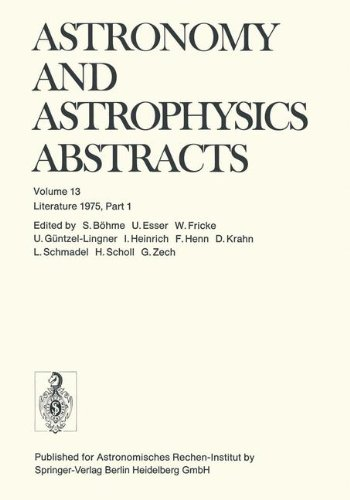 Literature 1975, Part 1 (Astronomy and Astrophysics Abstracts)