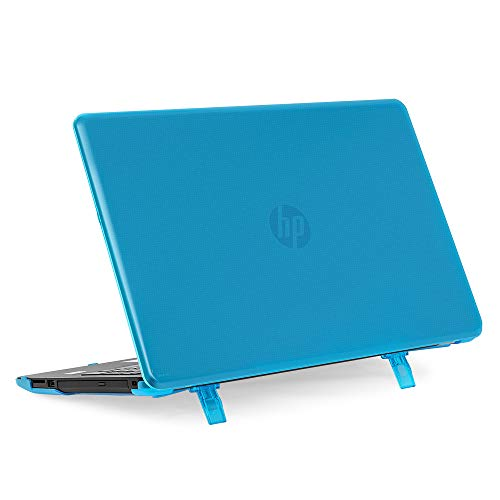 mCover Hard Shell Case for 15.6 HP 15-bsXXX (15-bs000 to 15-bs999) Series or HP 15g-brXXX or HP 15q-buXXX Series (NOT Fitting 15 Pavilion or Envy laptops) Notebook PC (HP 15-BS Aqua)