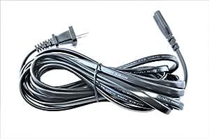 HQRP 10ft AC Power Cord fits Yamaha HS8 HS8S Studio Subwoofer Mains Cable