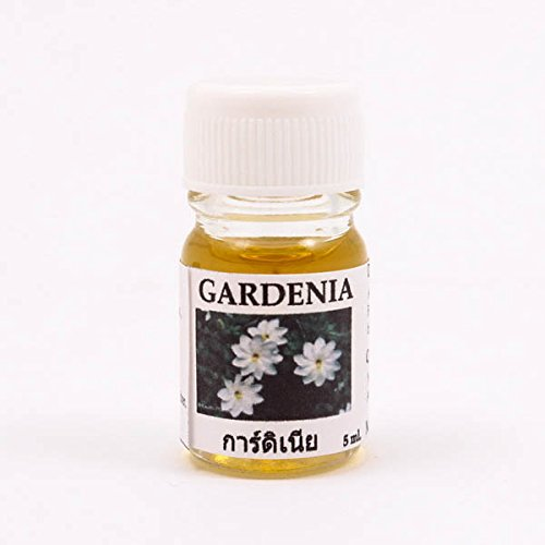 (T-80 Gardenia) Pure Aroma Oil Essential Oils:5 ml (0.17 oz) Aroma Diffuser Aromatherapy Home Fragrance Burner Relax (Health & Beauty>Natural & Alternative Remedies>Aromatherapy)