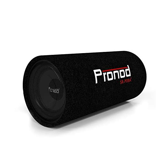 PRONOD SR-P8A+ 8 Inch Active Basstube Subwoofer with Built-in Amplifier