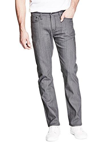GUESS Factory Men's Delmar Slim Straight Jeans (Mens Guess Jeans Slim)