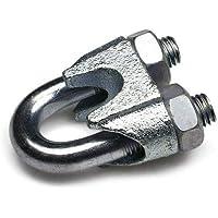 Constrabo® | 20x Abrazaderas de cable de acero