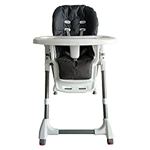 Adjustable Portable Baby Highchair High Chair Feeding Kids Toddler Dining Chair