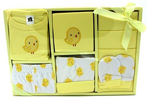 Baby Gift Set – 7 stuks luxe geschenkset 0-3 maanden Newborn 0-3 Months Citroen