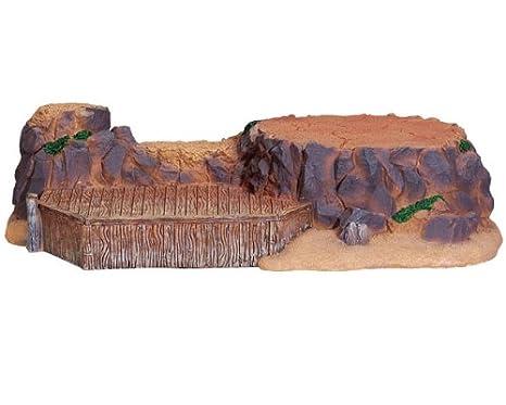 Amazon.com: LEMAX Village Paisaje Rocas de Navidad & Muelles ...