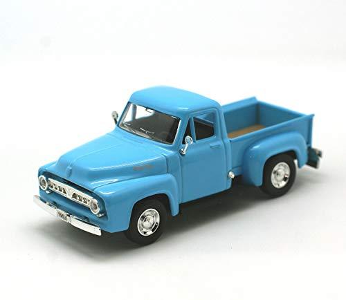Road Signature 94204-L.BL 1953 Ford F-100 Pick Up Truck Light Blue 1/43 Diecast Car Model