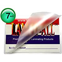7 Mil Military Card Laminating Pouches 2-5/8 X 3-7/8 Laminator Sleeves Qty 100 by LAM-IT-ALL
