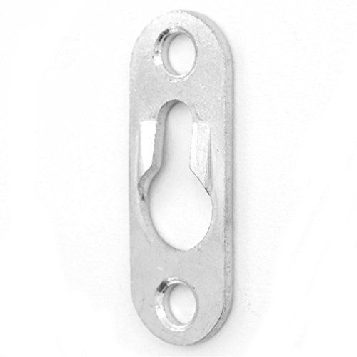 Heavy Duty Keyhole Hangers - Pack of 50 with Screws