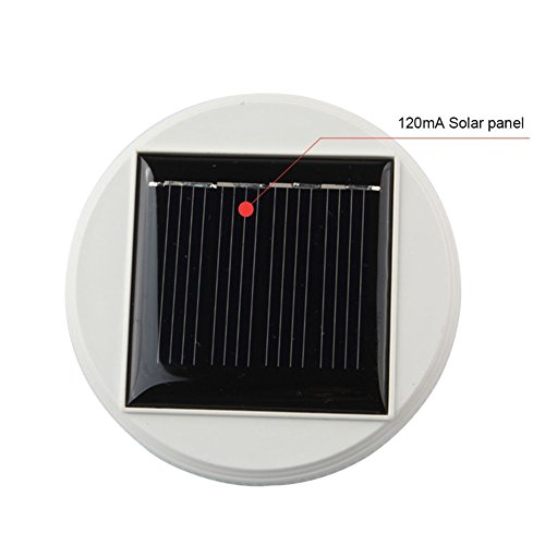 Solar Panel Top Replacement for Table - Steel Top Solar Lights Stainless