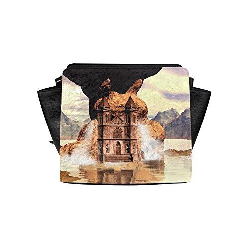 Fashion Design Fantasy World Satchel Bag (model 1635) Angelakochhappy