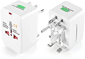 Flexzion All in One Universal Travel Wall Charger Converter