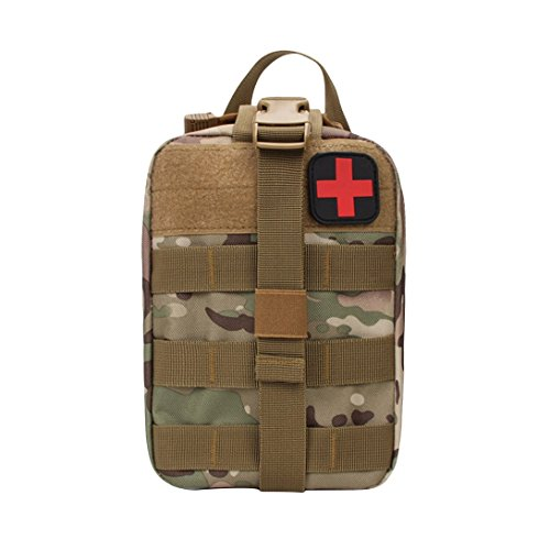 Bag Swiftswan First Aid Emergency Outdoor Cp Kit Camping Tactical Waist Travel Camouflage Case Pack pwrpAqz