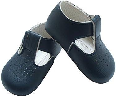 Baby boys Baypods navy blue pram shoes