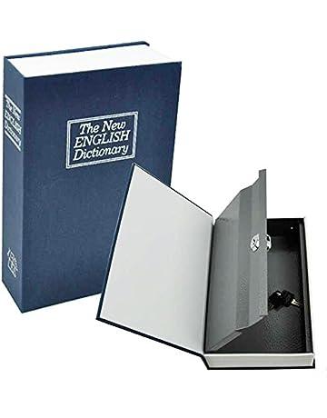 Aibecy Caja secreta Diccionario Caja fuerte Libro Dinero Cerradura de seguridad oculta Efectivo Moneda Almacenamiento Bloqueo de llave para regalo de ni/ño
