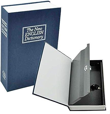 DP Design® Libro Caja de seguridad fuerte Puerta Valori falso Diccionario joyas mediano: Amazon.es: Hogar