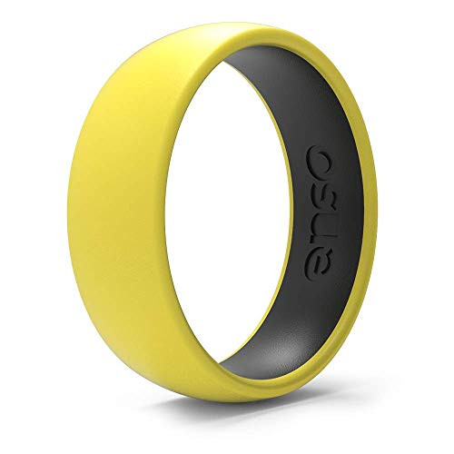 Enso Rings Dual-Tone Silicone Ring - Two Great Colors, One Amazingly Comfortable Ring.