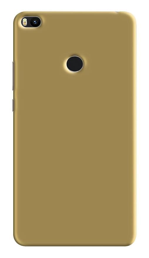 best loved d4d8f 5f640 Xiaomi Mi Max 2 Golden Back Cover