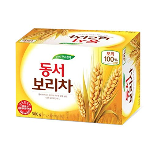 - Dongsuh Roasted Barley Tea, 10g x 30 bags