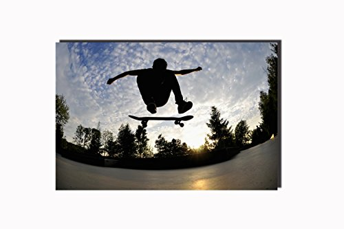 (POSTERFORHOME Cool Extreme Sports Poster Extreme Sports Skateboarding Poster Wall Decor for Home 24