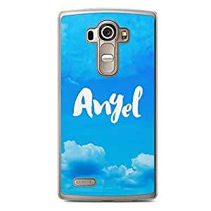 Angel LG G4 Transparent Edge Case - Titles Collection